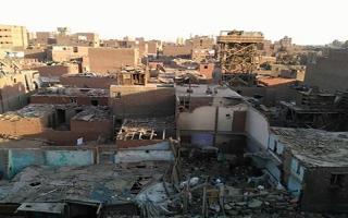 الصورة: الصورة: حريق هائل في منطقة إسطبل عنتر بمصر (فيديو)