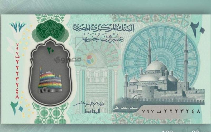 الصورة: الصورة: مصر.. أول صور للجنيهات البلاستيكية الجديدة