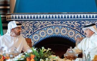 محمد بن زايد: العلاقات الإماراتية البحرينية أحد أهم مرتكزات العمل الخليجي المشترك