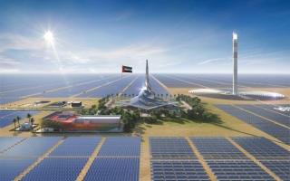 ارتفاع إنتاج الكهرباء في دبي من 43 إلى 12900 ميغاوات خلال 50 عاماً