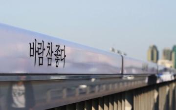 الصورة: الصورة: «جسر الحياة» في سيئول.. مبادرة لإنقاذ الحياة وتجاوز المحن النفسية