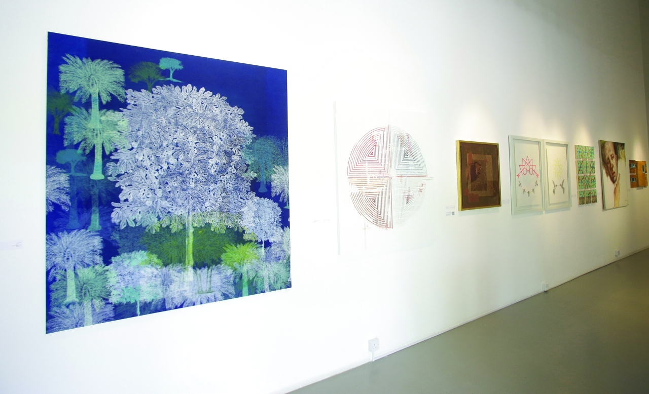 الصورة : A tour of Tashkeel Art Gallery in Dubai. September 07, 2021. photo by Xavier Wilson