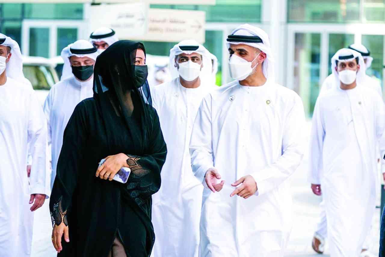 خالد بن محمد بن زايد يثني على استعدادات «إكسبو» الاستثنائية