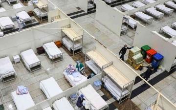 الصورة: الصورة: بدلاً من الفنادق.. الصين تنشىء محطة دولية للحجر الصحي