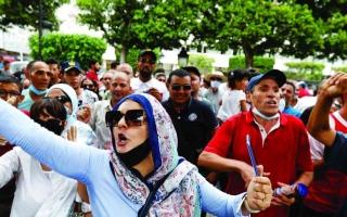 الصورة: الصورة: تونس.. «الإخوان» يفشلون في اختبار الشارع