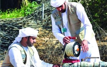 الصورة: الصورة: 63 % إجمالي استخدام المياه الجوفية  في أبوظبي
