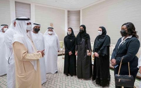 الصورة: الصورة: نهيان مبارك آل نهيان: متطوعو إكسبو 2020 يجسدون قيم الإمارات ومستعدون للترحيب بالعالم