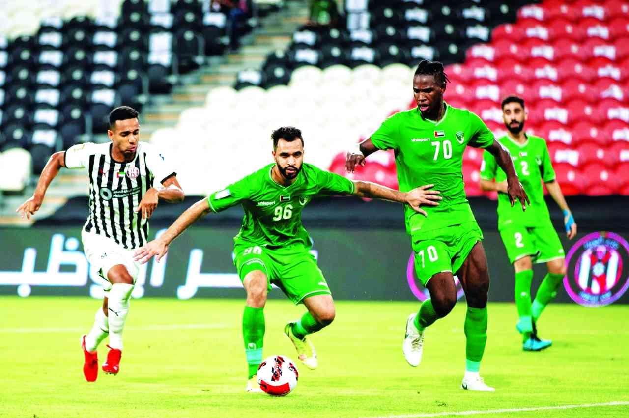 الصورة : من مباراة الصقور الأخيرة أمام فخر أبوظبي    تصوير: أحمد بدوان