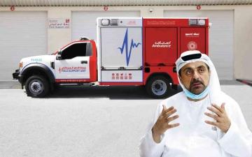 الصورة: الصورة: خليفة الدراي لـ« البيان »: وحدة للإسناد في «إكسبو» مزودة بأحدث الأجهزة للدعم والطوارئ