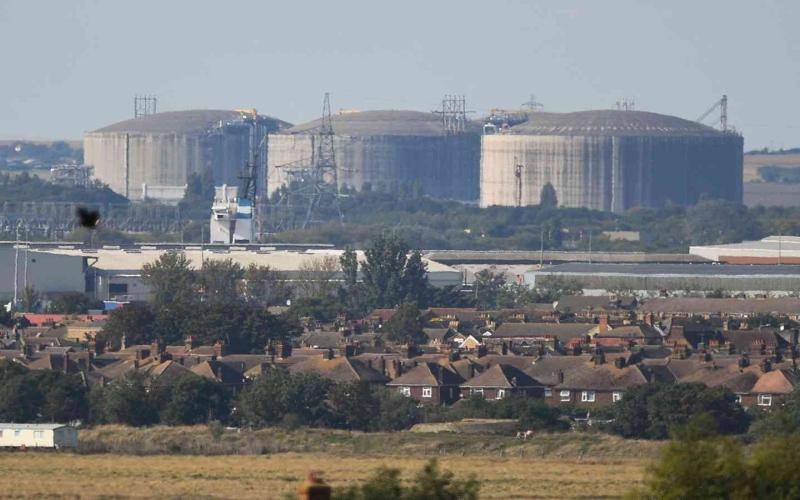 الصورة: الصورة: تراجع أسعار الغاز في السوق الأوروبية