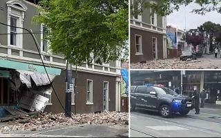 الصورة: الصورة: زلزال بقوة 6 درجات يضرب أستراليا.. فيديو