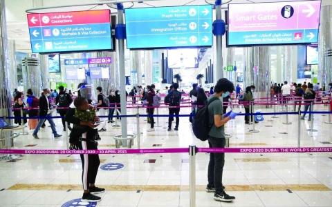 الصورة: الصورة: 774.6 ألف مقعد على الرحلات بمطارات الدولة قبل أسبوع من الحدث