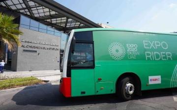 الصورة: الصورة: طرق دبي تعلن مواعيد عمل منظومة النقل الجماعي الخاصة بـ إكسبو