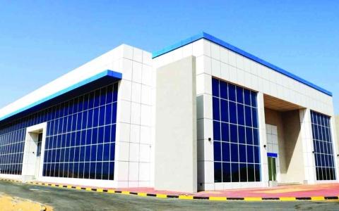 الصورة: الصورة: افتتاح محطة النقل العام في عجمان تزامناً مع إكسبو 2020