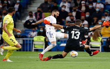 الصورة: الصورة: ريال مدريد يسقط في فخ التعادل السلبي أمام فياريال