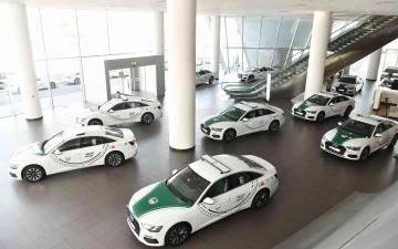 الصورة: الصورة: شرطة دبي تعزز أسطول دورياتها بـ100 سيارة أودي طراز A6