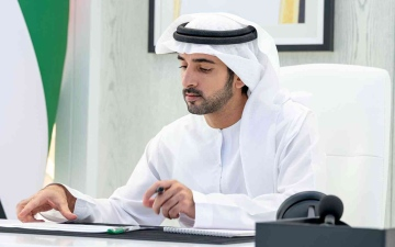 الصورة: الصورة: حمدان بن محمد: نتائج مبشرة لتجارة دبي الخارجية ونمو قوي وصل إلى 31 %