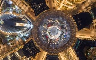 الصورة: الصورة: البيان تعرض بعضاً من  عجائب إكسبو دبي الهندسية