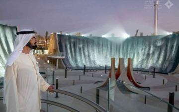 """الصورة: الصورة: محمد بن راشد مرحباً بضيوف الإمارات عبر """"البيان"""": إكسبو دبي قمة الفخر الوطني والثقة العالمية"""