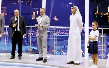 الصورة: الصورة: وزير الخارجية الفرنسي: التقنية والاستنارة والعلم رسالة فرنسا في إكسبو 2020 دبي