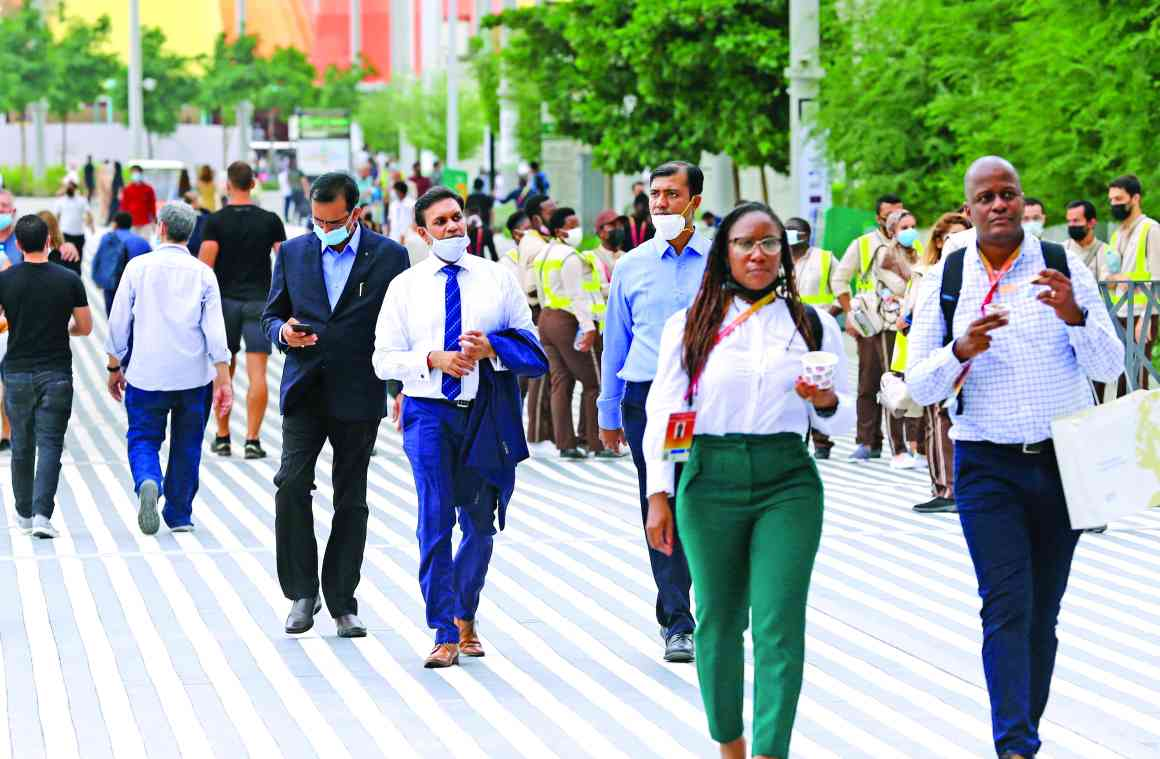 الصورة : » التنوع سمة أساسية لـ«إكسبو دبي»