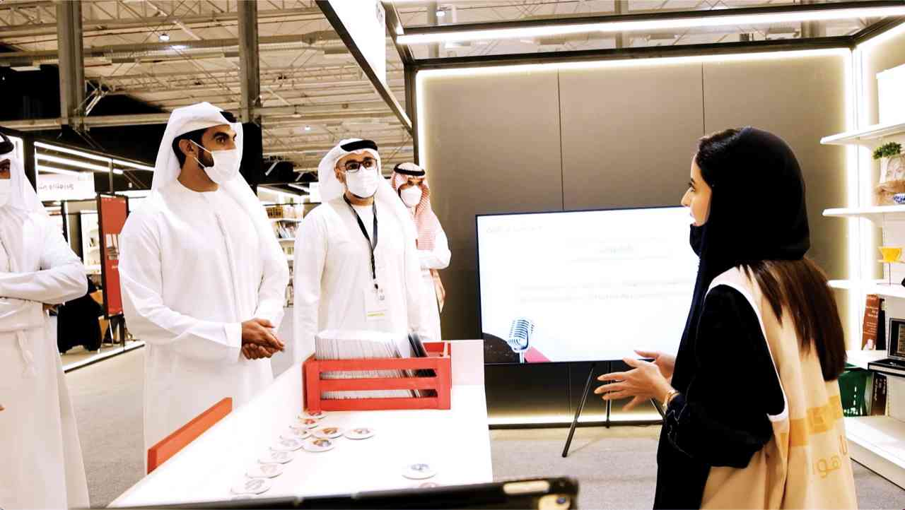 وفد وزارة الثقافة والشباب يزور معرض الرياض الدولي للكتاب 2021