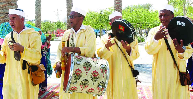 الصورة : » فقرة من التراث المغربي