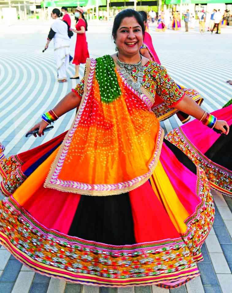 الصورة : » ألوان بهيجة من التراث الهندي
