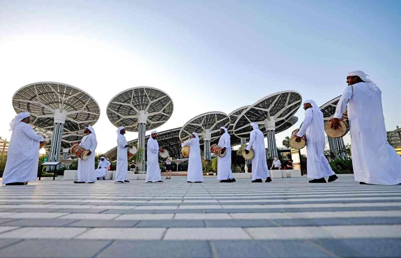 الصورة : التراث الإماراتي حاضر بقوة