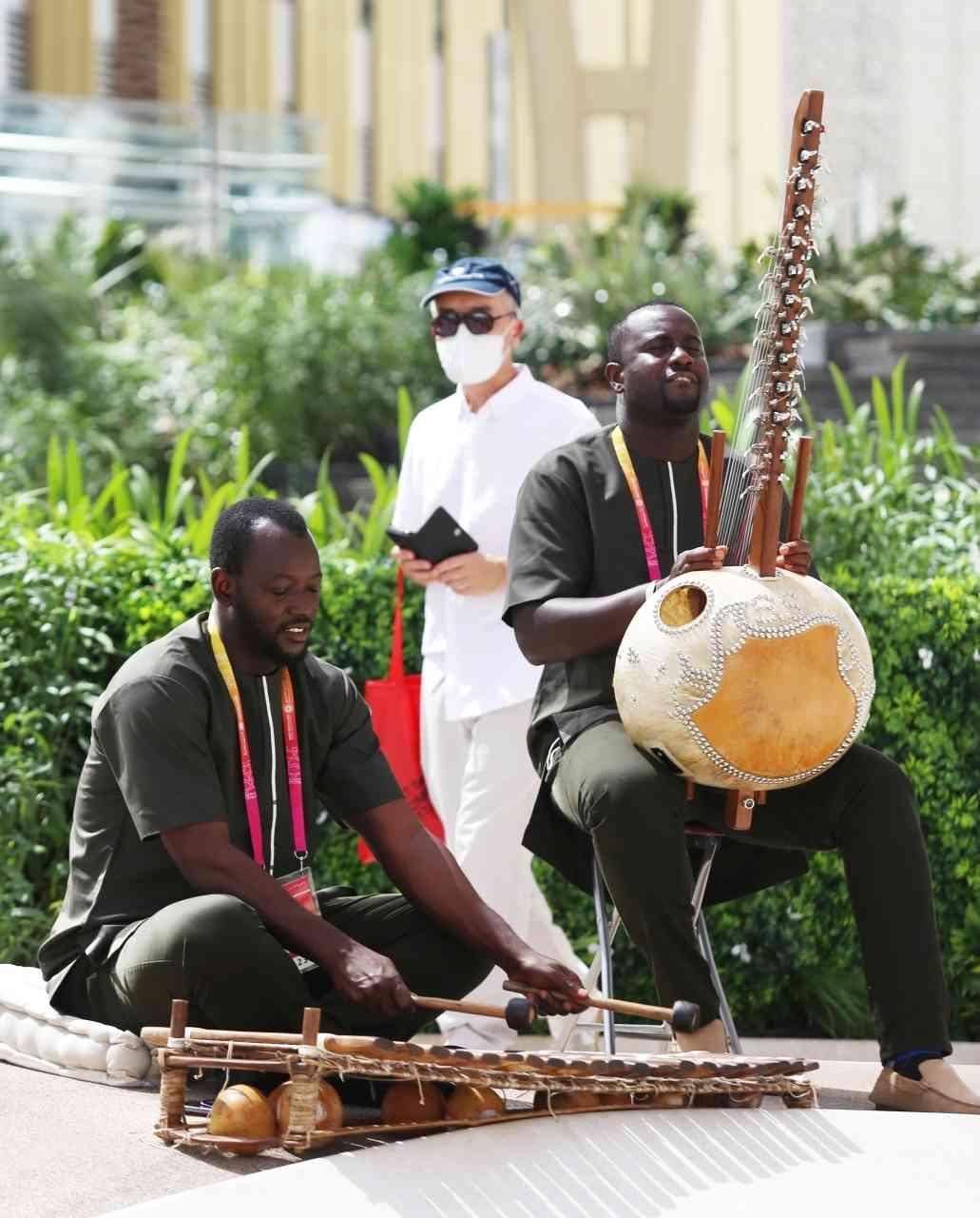 الصورة : إيقاعات أفريقية