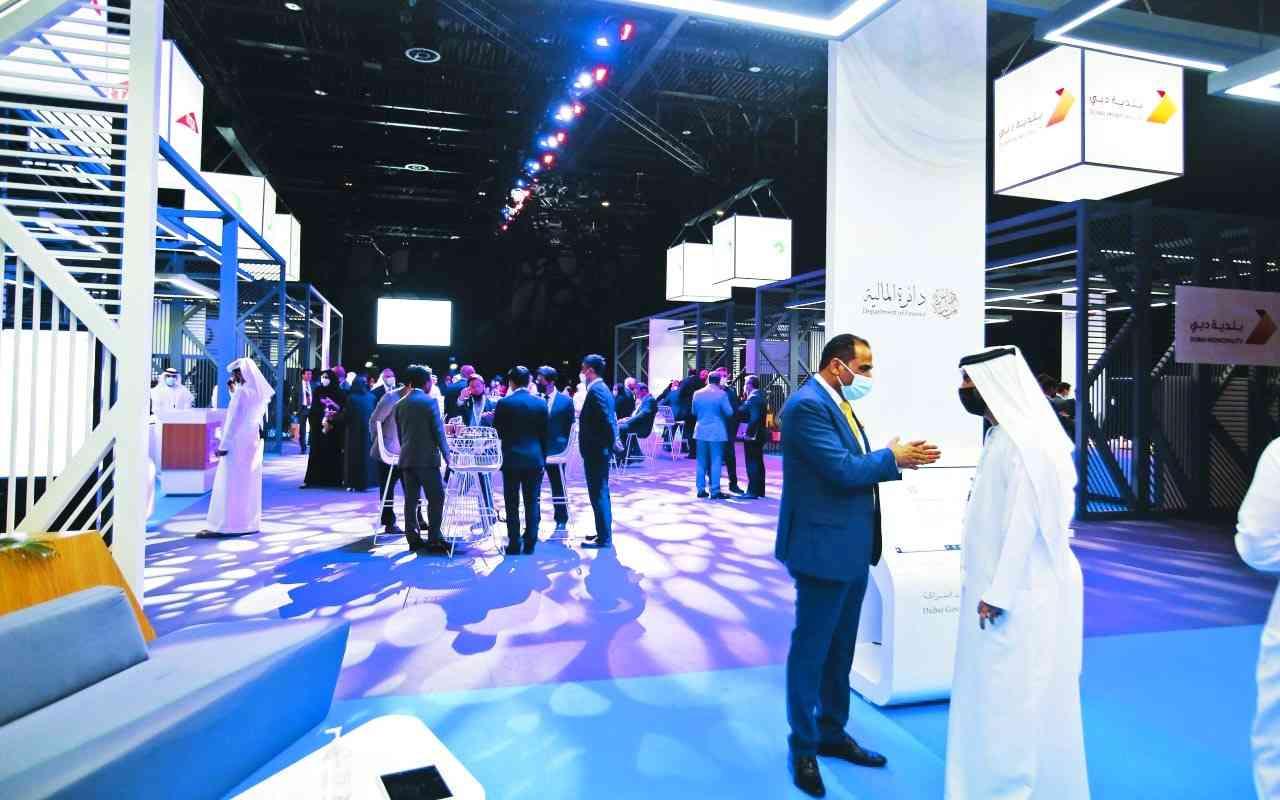 الصورة : مشاركة فعالة من بلدية دبي في المؤتمر