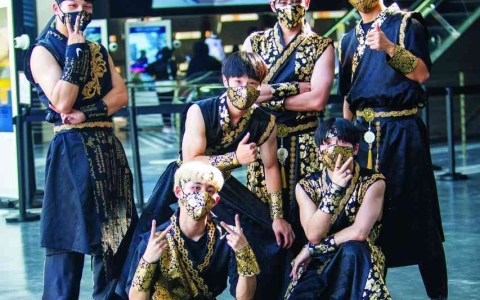 الصورة: الصورة: رقصات كورية