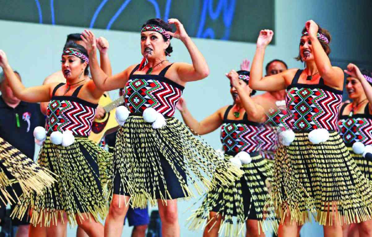 الصورة : » عرض راقص من نيوزيلاندا