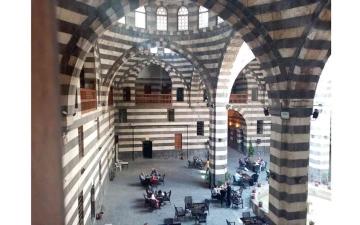 الصورة: الصورة: خان أسعد باشا.. شاهد على حضارة دمشق وانفتاحها الفكري والثقافي