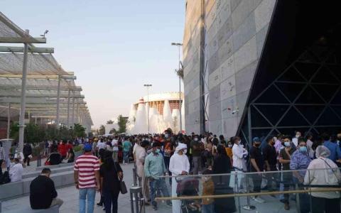الصورة: الصورة: 80 ألف زائر لجناح مصر في إكسبو 2020 خلال أسبوعين