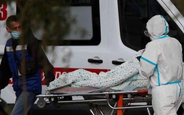 الصورة: الصورة: روسيا تسجل ارتفاعاً قياسياً لوفيات وإصابات كورونا