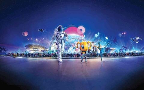 الصورة: الصورة: رحلة استثنائية لاستطلاع الفضاء واكتشافات المستقبل في إكسبو 2020