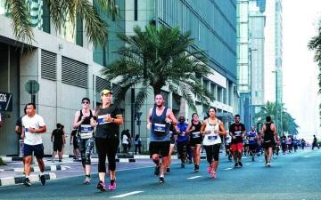 الصورة: الصورة: 17 فعالية رياضة في دبي خلال نهاية الأسبوع تابعها أكثر من 25 ألف متفرج