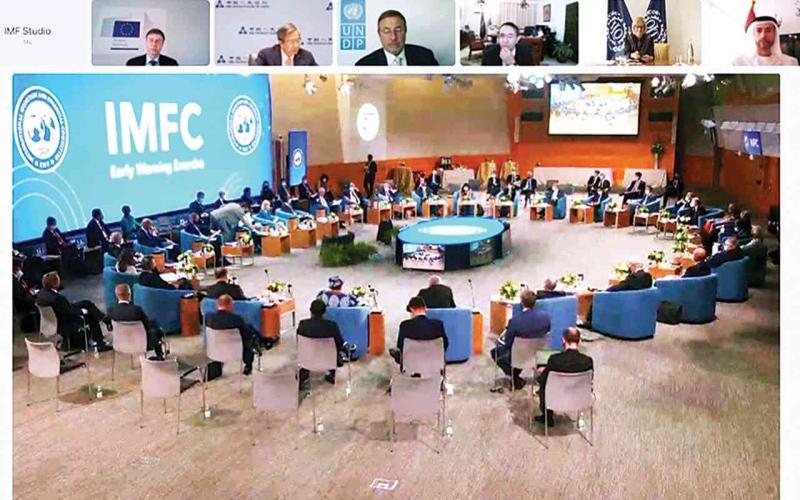 الصورة: الصورة: الإمارات تدعم تسريع الانتعاش وبناء اقتصادات مرنة ومستدامة