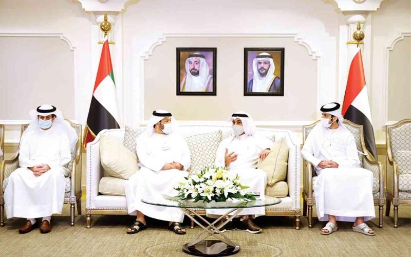 الصورة: الصورة: اقتصادية الشارقة تستقبل وفد الصندوق الكويتي لرعاية وتنمية المشروعات الصغيرة