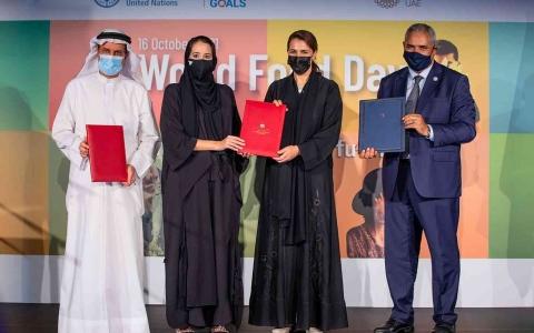 الصورة: الصورة: الإمارات تعزز مساعيها نحو تبني نظم غذائية صحية مستدامة