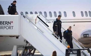 الصورة: الصورة: الهجوم على مانشستر يونايتد بسبب طائرة خاصة