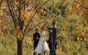 الصورة: الصورة: مليونا دولار تكاليف حفل الزفاف..  زواج ابنة بيل جيتس ونايل نصار