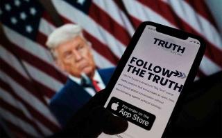 ترامب يطلق شبكة «تروث سوشل» للتواصل الاجتماعي