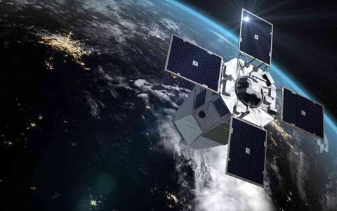 الصورة: الصورة: باريس تضع أحدث جيل من الأقمار الاصطناعية العسكرية في المدار