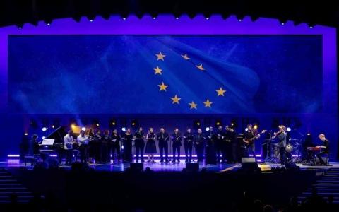 الصورة: الصورة: الاتحاد الأوروبي يحتفي باليوم الفخري في إكسبو 2020 دبي