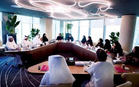 الصورة: الصورة: غرفة التجارة ومجلس سيدات أعمال عجمان يبحثان التعاون مع وفد صاحبات الأعمال العُمانيات