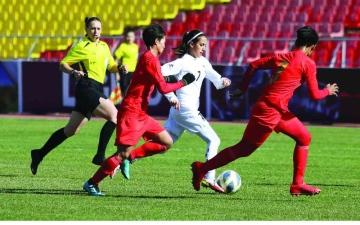 الصورة: الصورة: منتخب السيدات يودع التصفيات الآسيوية