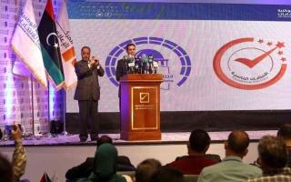 الصورة: الصورة: قطار الانتخابات ينطلق في ليبيا
