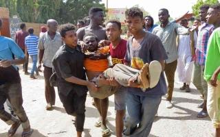 الصورة: الصورة: مقتل 7 أشخاص وإصابة 140 في احتجاجات السودان